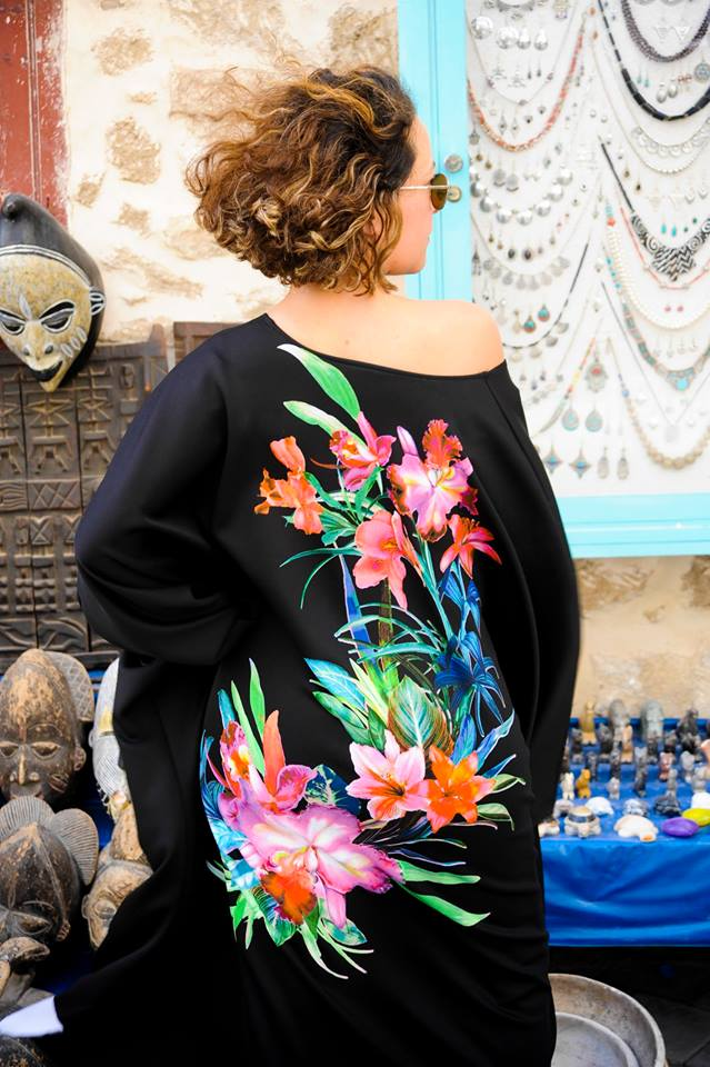 La Petite Fée Lée Douja la couture c'est son art/Crédit photo/  Fred Le Loup