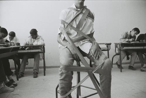 HICHAM BENOHOUD PHOTOGRAPHIES-LA SALLE DE CLASSE-