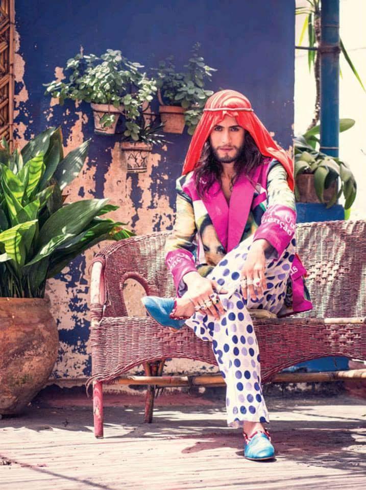 Yassine Morabite, créateur haut en couleurs