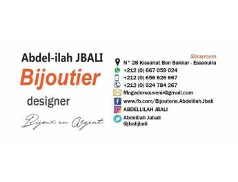 Les bijoux du designer Jbali