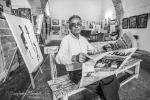 Les sérigraphie de Hamid Bouhali