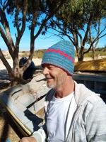 Bonnet de laine vierge Fluo